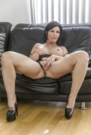 Pussy spreading mature Solo